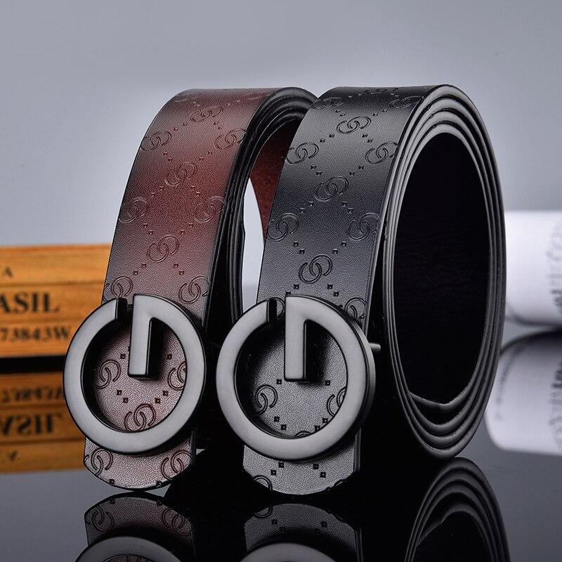 Lujo boutique Tipo G hebilla de oro y plata hombres y mujeres pueden usar cinturones, multi-color opcional casual fashion business belt.