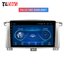 9 inch IPS Android 8.1 car multimidia dvd player for Toyota Land cruiser 100 LC 100 LC100 CAR radio gps navigation(China)