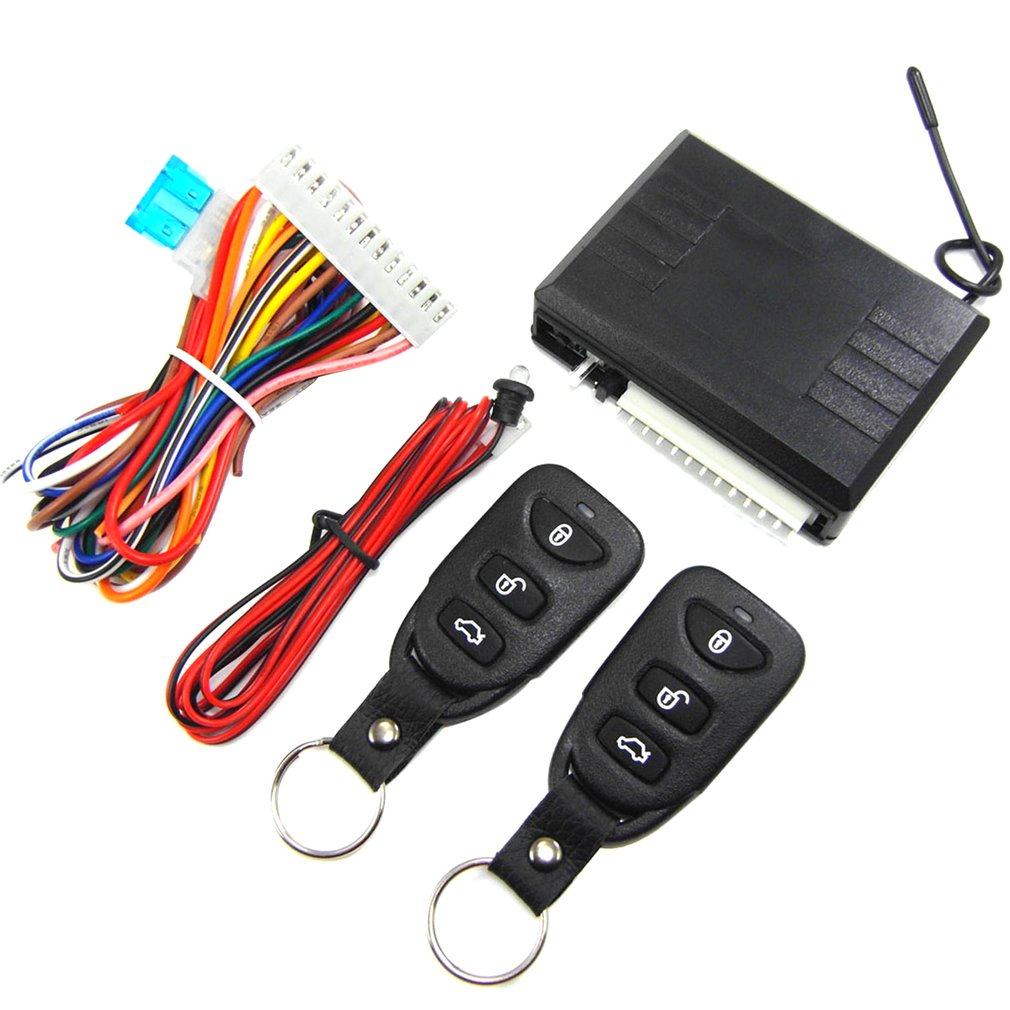 Auto Electronic Parts Anti-theft Device Central Lock Dart Hawk Alarm M616-8113 No Need Key To Enter Control