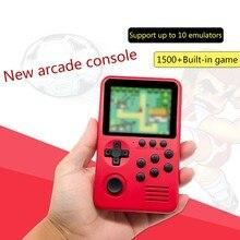 M3S Mini Handheld Spielkonsole Spieler Gebaut-in 1500 + Spiele 16 Bit Retro Gaming XXUC