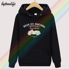2020 novo deus ex machina outono preto marca unissex limitied edição superior hoodie dos homens moda lã camisola pulôver tamanho asiático