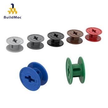 BuildMOC Compatible Assembles Particles 61510 Small Line Building Blocks Parts DIY LOGO Educational Tech Parts Toys