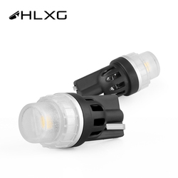 HLXG T10 W5W LED Replacement Bulbs 12V Car RV Interior Dome Map Door Courtesy Trunk License Plate Clearance Lights Marine ight