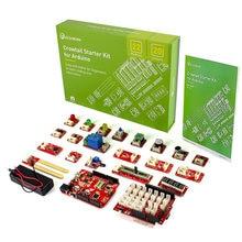 Elecrow Verbesserte Version Crowtail Starter Kit für Arduino Elektronische DIY Bildung Programmierung Lernen Kit mit 20 Lektionen
