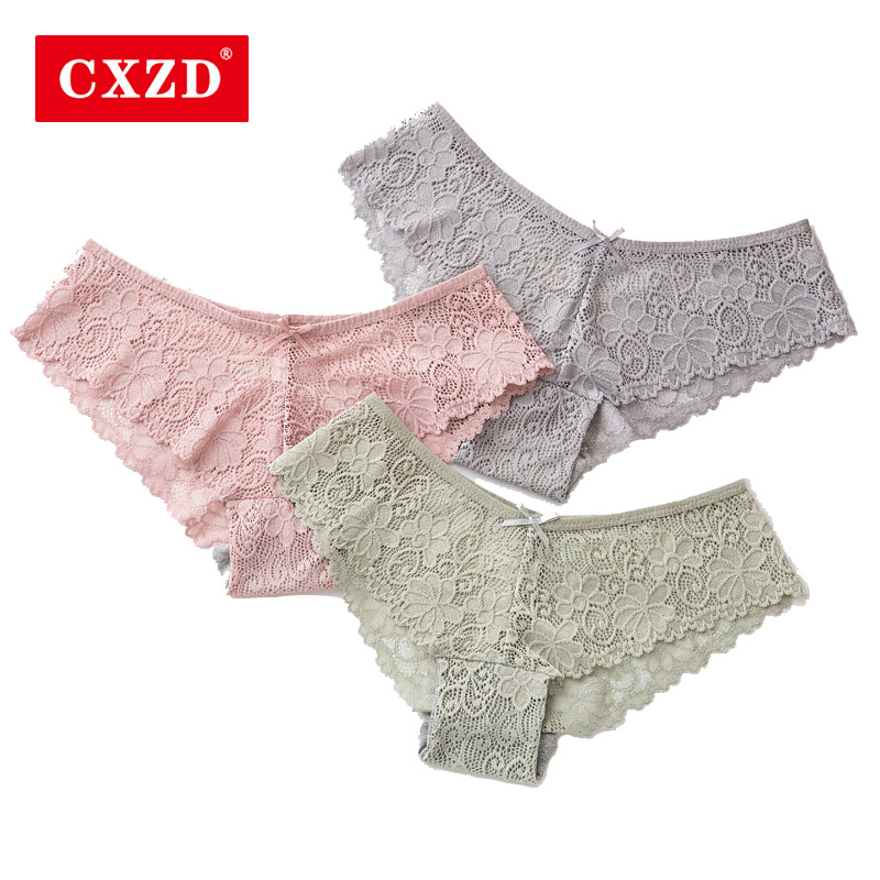 CXZD Seamless   Panty   Set Underwear Female Comfort Intimates Fashion Female Low-Rise Briefs Lingerie Drop Shipping