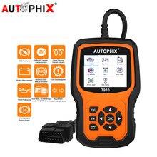Autophix 7910 para bmw mini obd2 scanner de óleo da bateria epb sas airbag tpms redefinir obdii scanner todas as ferramentas de diagnóstico do carro sistema