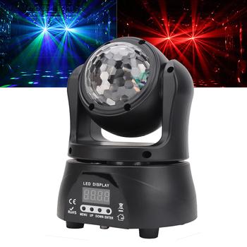 30W Magic Ball efekt kalejdoskopu reflektor z ruchomą głowicą Pro zielony Laser światła dj-skie efekt stroboskopowy LED Light na świąteczny pokaz Disco tanie i dobre opinie OEING CN (pochodzenie) Efekt oświetlenia scenicznego Oświetlenie sceniczne DMX 30 w RJ051 90-240 V Profesjonalne stage dj
