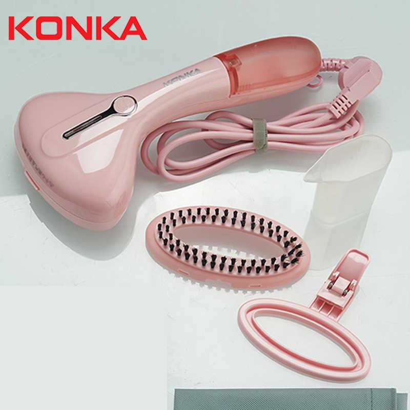 Kledingstuk Stoomboot KONKA stoom pers strijkmachine 1500W Mini Draagbare collectie maquina de planchar ropa