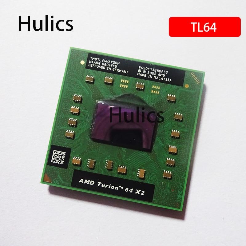 Hulics AMD Turion 64 X2 Mobile TL-64 TMDTL64HAX5DM TMDTL64HAX5DC 2.2GHz/Socket S1(S1G1)/Dual-Core Laptop Processor TL64 TL 64
