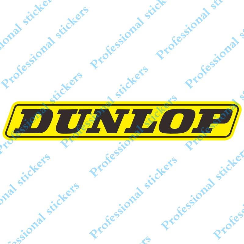 Funny For DUNLOP Vinyl Sticker Rear Windshield Decal Car Stickers Car Window Bumper Decoration Car Styling