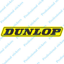 Funny For DUNLOP Vinyl Sticker Rear Windshield Decal Car Stickers Car Window Bumper Decoration Car Styling