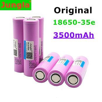 20 sztuk 35E oryginalna moc 18650 bateria litowa 3500 mAh 3 7 V 25A wysokiej mocy INR18650 35E 3500 mAh baterii tanie i dobre opinie Jungla 18650-35E Li-ion Rohs CN (pochodzenie) Tylko baterie Pakiet 1 2-20 pcs