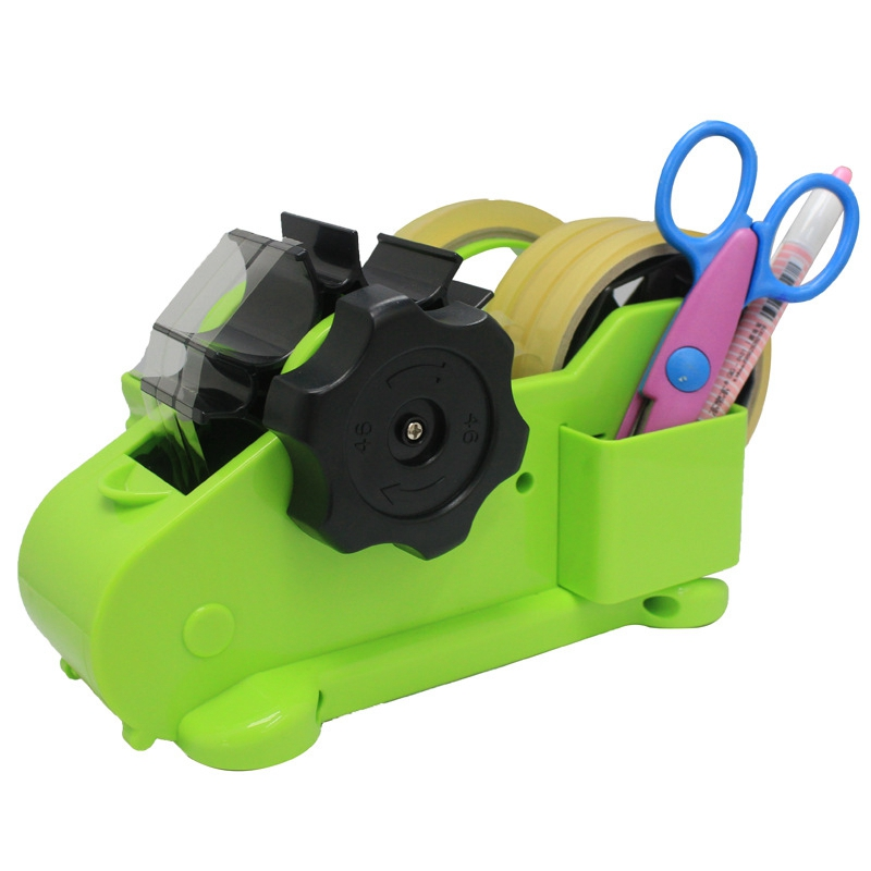 Multi Purpose Automatic Desk Tape Dispenser Cutter Perfect for Office Home School Supplies image