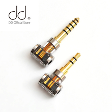 DD ddHiFi DJ35A DJ44A, 2.5 4.4 zrównoważony adapter, do 2.5mm kabel do słuchawek balansowych, od marek takich jak Astell & Kern, FiiO itp.