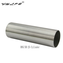 VULPO Stainless Steel Cylinder for R85 SR-25 Series airsoft AEG Hunting Accessories