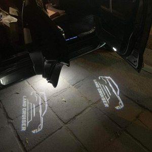 2pcs Car Door Welcome LED Proj