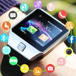 2020 Original Bluetooth Smart Watch Call/SMS SIM Card Camera Intelligent Wrist Phone Watches For apple Android Smartwatch DZ09