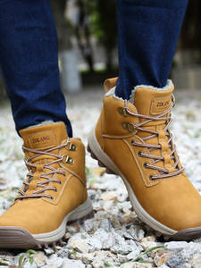 AODLEE Winter Men Boots Outdoor-Shoes Plush Big-Size Hombre Warm Super Ankle No for Sneakers