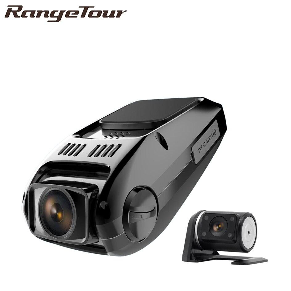 Двойная камера Novatek 96655 Chip B40s Plus Автомобильный видеорегистратор Full HD 1080P двойной объектив 170 градусов видеорегистратор B40D