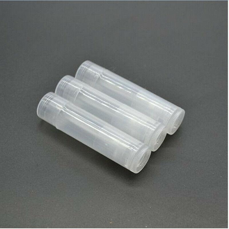 10 шт пластиковый Пустой Овальный бальзам для губ тубы закручивающийся