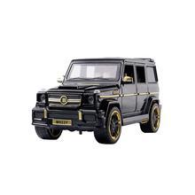 Литая под давлением модель автомобиля Brabus G65 1:24, Игрушечная модель автомобиля из металлического сплава, модель автомобиля, игрушки для детей и взрослых, коллекция автомобилей