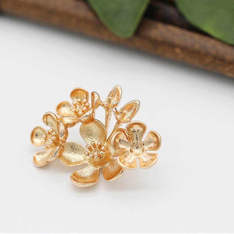 Blesiya 10pcs Alloy Branch Charms Jewelry Making Headpieces DIY Craft