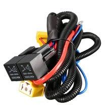 Реле Жгут проводов для фар, обновленная фара H4 для VW Golf Corrado/Mk2