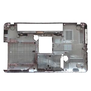 Image 5 - חדש מקרה כיסוי עבור Toshiba לווין L850 L855 C850 C855 C855D Palmrest כיסוי ללא touchpad/מחשב נייד תחתון בסיס מקרה כיסוי