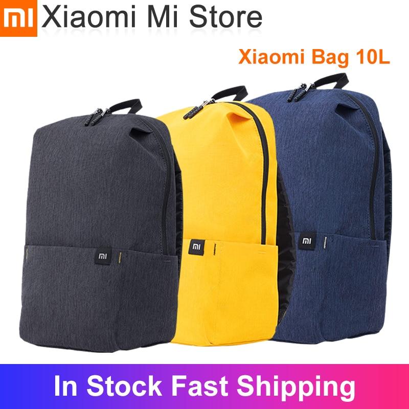 В наличии рюкзак Xiaomi 10L, сумка, красочные, многосценарные приложения, удобные плечи для мужчин, женщин, детей, рюкзак|Сумки|   | АлиЭкспресс
