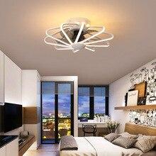 Brand New Restaurant Fan Light Bedroom Ceiling Fan Light Living Room Lamp  Integrated LED Fan Light AC220V Pure Copper Motor
