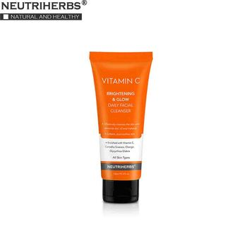 NEUTRUHERBS Facial Cleanser Face Wash Cleaning Oil Control Vitamin C Removing Dirt Oil and Makeup Softening Skin 120 ml