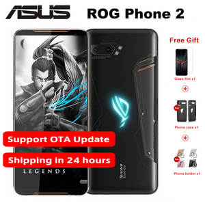 Asus ROG Phone 2-Game 128GB WCDMA/CDMA/GSM/LTE NFC Quick Charge 4.0 Octa Core In-Screen fingerprint recognition