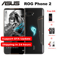 New 6.59 8GB RAM 128GB ROM Asus ROG Phone 2 Game Phone Snapdragon 855+ NFC ROG Phone II ZS660KL 6000mAh Android 9 Mobile phone