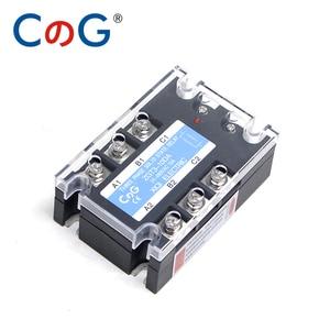 Image 3 - CG 3 Phase 10A 25A 40A DA 60A 80A 100A 150 200A Three Phase SSR 3 32V DC Control 24 480V AC Solid State Relay SSR AC Three DC AC