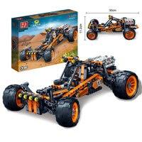 1 Piece BanBao 6951 High Tech Car Race Car Building Blocks Children Boy Assembled Toys 6 7 10 12 Year Old