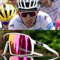 2019 marque lunettes de cyclisme polarisées VTT lunettes de cyclisme UV400 hommes cyclisme lunettes Sports de plein air vélo lunettes de soleil