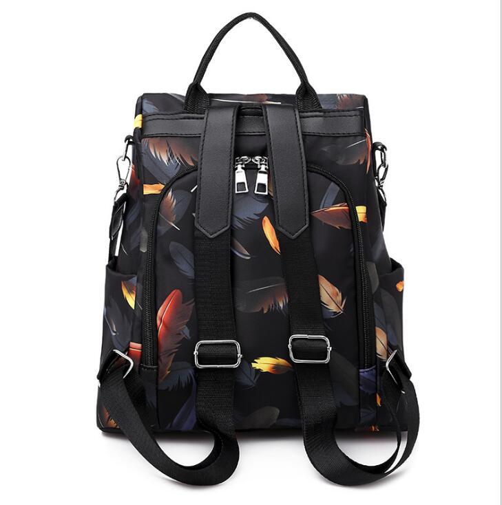 H291484b4f36944978ad203069ac336b3u 2019 New Women Backpacks Vintage Korea Brand Design Bag Travel Anti Theft Backpack Nylon High Quality Small Rucksack ZZL188