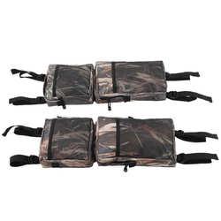 2Pcs Snowmobile Rear Rack Carry Bag ATV All Terrain Vehicle UTV Package Camouflage Durable