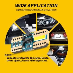 Image 4 - DXZ 100PCS T10 LEDรถW5WหลอดไฟLED Canbus 168 194 2 SMD 6000Kสีขาวภายในรถโดมแผนที่ที่จอดรถข้อผิดพลาดฟรีNon Polar