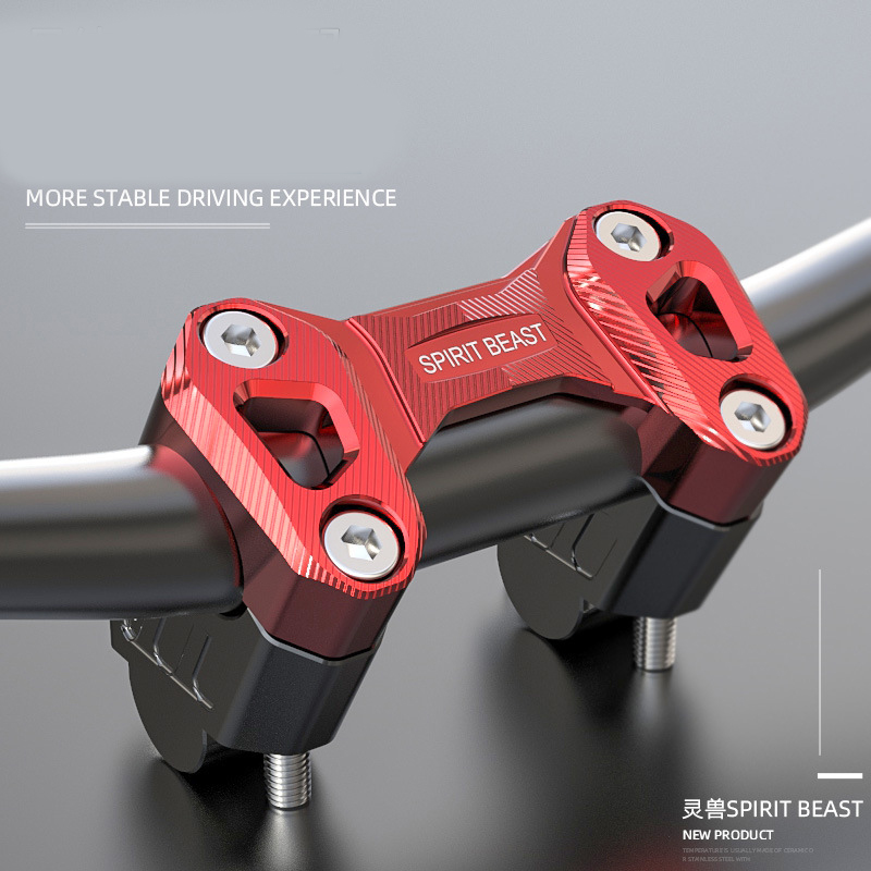Spirit Beast Motorcycle Handlebar Riser Pressure Code FOR Benelli 502C TRK502 TRK502X LEONCINO 500 Handlebar     - title=