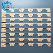 Retroiluminação LED tira lâmpada Para THOMSON 6 U50S6806S L50E5800A LVU500NDEL SW 4C LB5006 YH2 LB5006 HR2 LB5005 TMT_50E5800_8X6_3030C