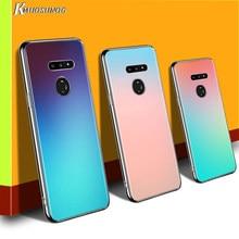 Gradiente de Cor para LG W20 W10 V50S V50 V40 V30 K50S K40S K30 K20 Q60 Q8 Q7 Q6 G8 G7 G6 ThinQ Caso de Telefone