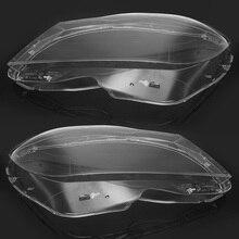 A Pair Car Front Headlight Headlamp Light Lens Shell Cover Trim For Mercedes For Benz C Class W204 2Dr/4Dr 2011 2012 2013 014