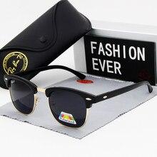 Preto óculos de sol dos homens polarizados óculos de sol azul masculino marca designer feminino uv400 óculos de proteção feminino clássico condução 2020