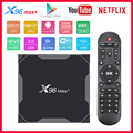 X96 Max Plus Smart TV Box Android 9.0 Amlogic S905X3 Quad Core 2G/4G RAM 16G/32GB/64GB ROM 2.4G&5G WIFI X96max 4K 8K Set top Box