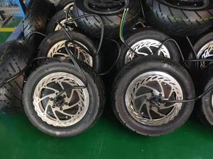 Image 2 - thunder Motor with tire and disc thunder  wheel