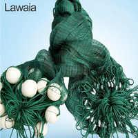 Lawaia рыболовные сети, 5 м, прочные рыболовные сети, тянущиеся железные грузила, перила, анти-птичья сеть, рыбные пруды, сеть драгнет по индивид...