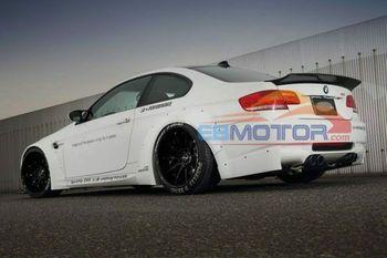 LB Carbon Fiber Spoiler CF Trunk Spoiler Wing For BMW E92 M3 Coupe M3 07-13 B536 1