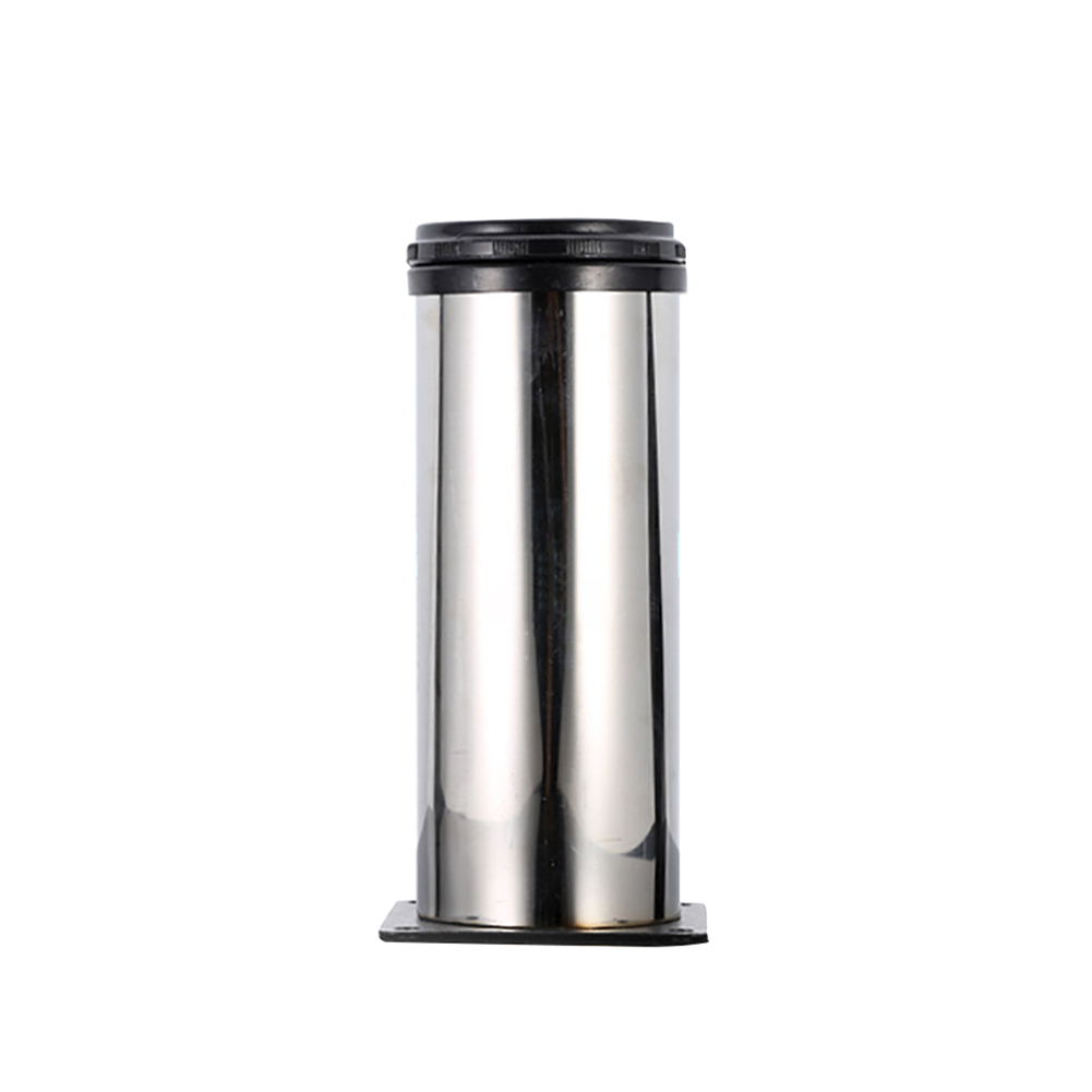 Furniture Foot Hotel Stainless Steel Table Durable Adjustable Living Room Cabinet Legs Support Home Hardware DIY Anti Slip Round