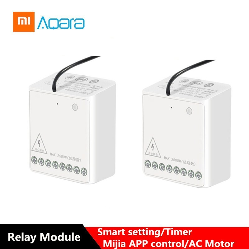 Aqara Two-way Module Smart Setting Timer APP Control One Control Multiple Device For Mijia APP & Home Kit Control Module